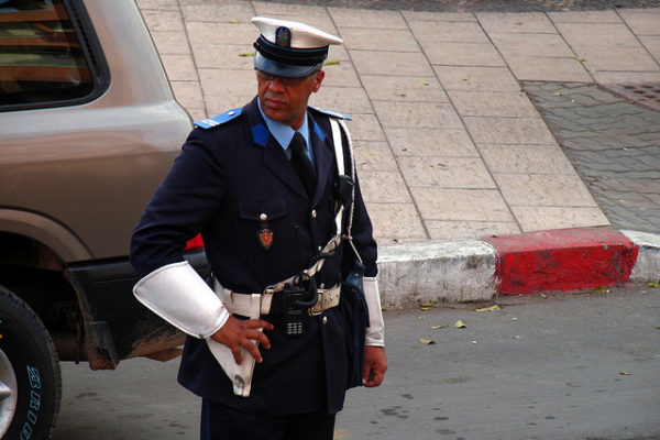 Police Officer in Morocco - Photo: C Henrik Anderson
