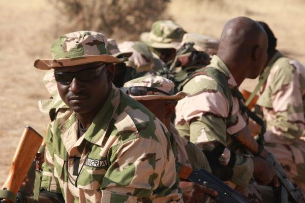Nigerian Soldiers - FLINTLOCK 2014