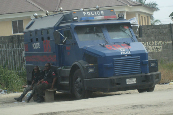 Police in Lagos. Photo: satanoid