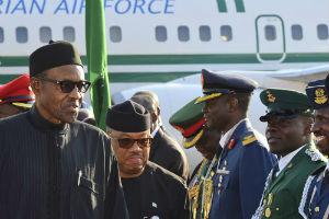 Buhari at the 25th AU Summit