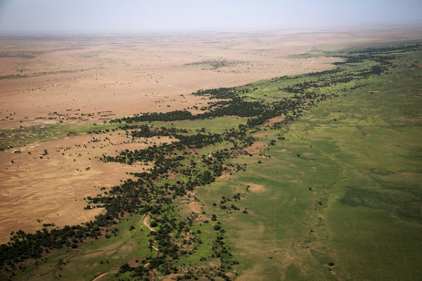 Aerial View of Northern Mali. UN Photo/Marco Dormino