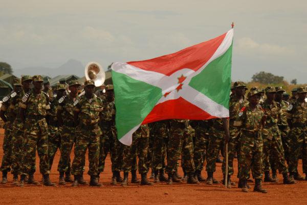 Burundi Army. Photo US Army Africa