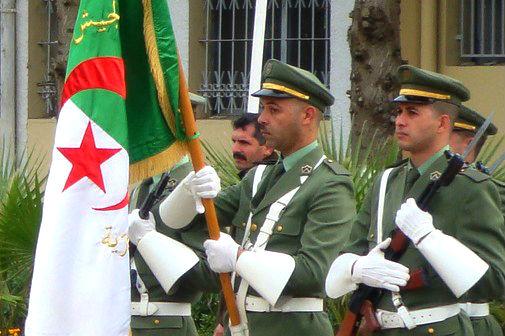 Algerian military