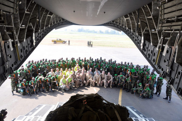 U.S. airlift Rwandans to Central African Republic