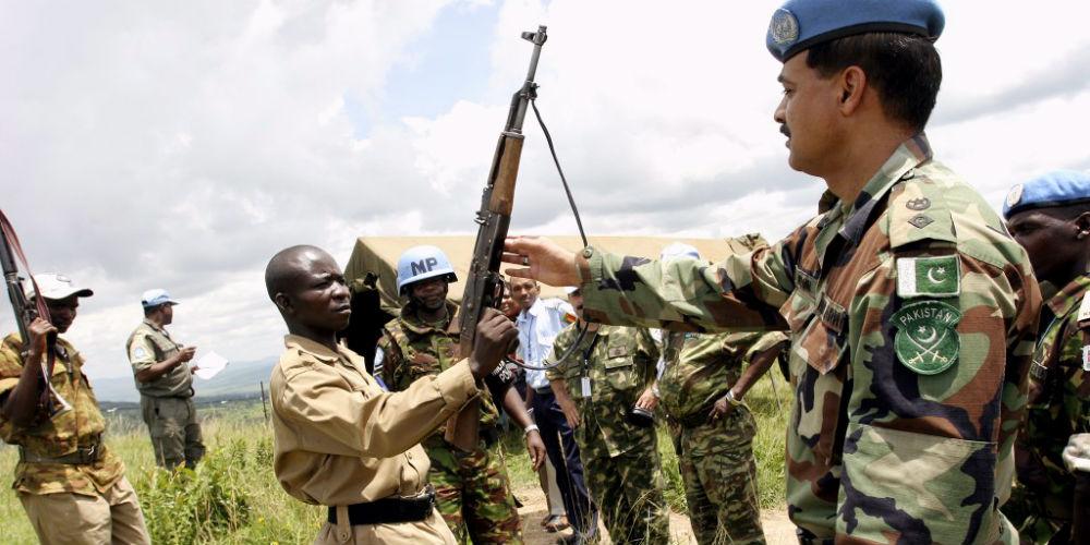 Disarmament in Burundi