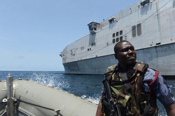 Ghanaian maritime police