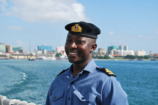 APS Staff Spotlight: Captain Philip Mulumba, Kenya Navy