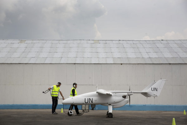 Unmanned Aerial Vehicles in DR Congo : Photo UN