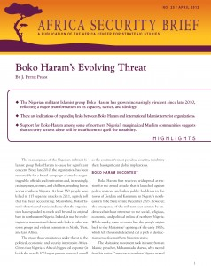 Boko Haram's Evolving Threat