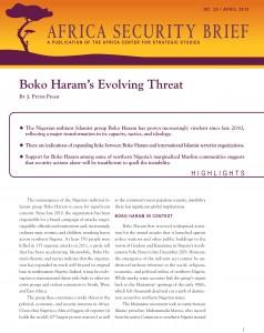 Boko Haram's Evolving Threat