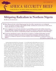 Mitigating Radicalism in Northern Nigeria
