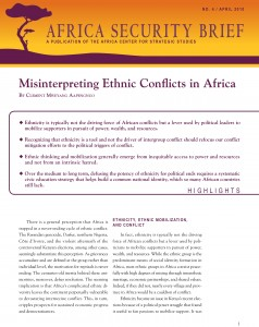 Misinterpreting Ethnic Conflicts in Africa