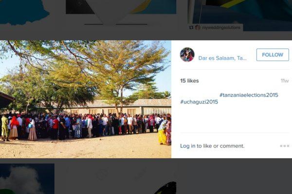 elections tanzania instagram