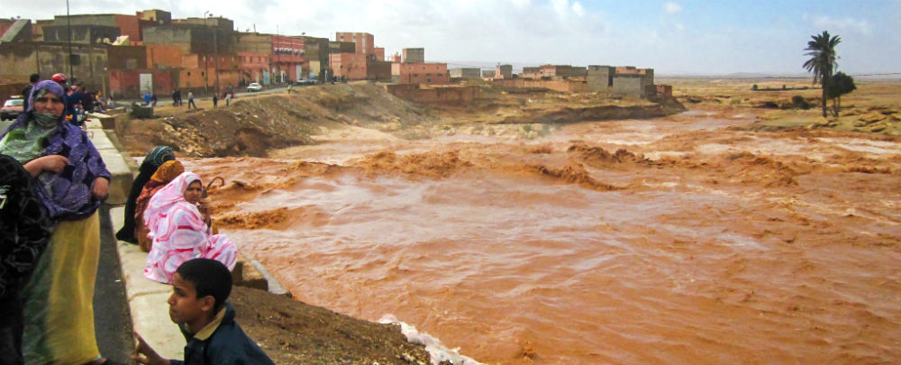 Morocco flood