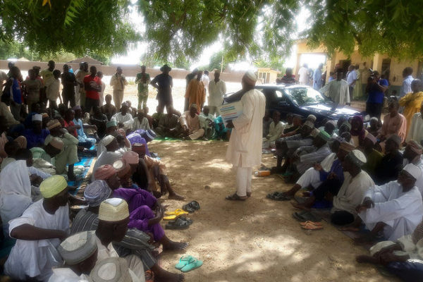 Community Group Meeting in Kebbi State - Nigeria June 2015