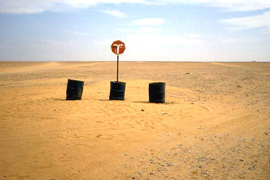 A road sign in Niger FI