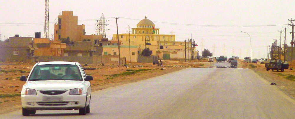 A road in Kambut, Libya. Photo: Mujaddara.