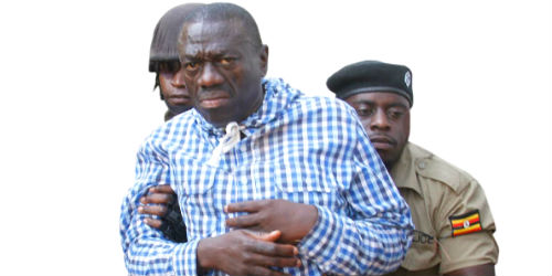 Kizza Besigye is arrested