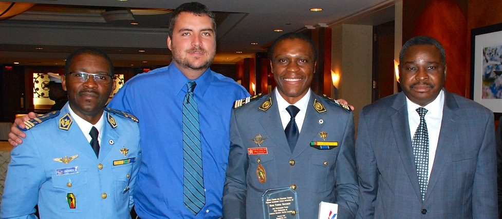 Mr. Drew Beck with members of the Africa Center community at the November 2015 Next Generation of African Security Sector Leaders program.