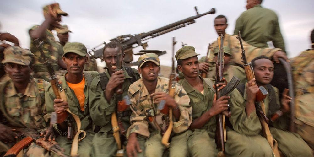 Fighters of the Ras Kimboni Brigade