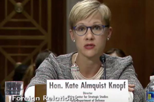 Kate Almquist Knopf at House hearing on South Sudan