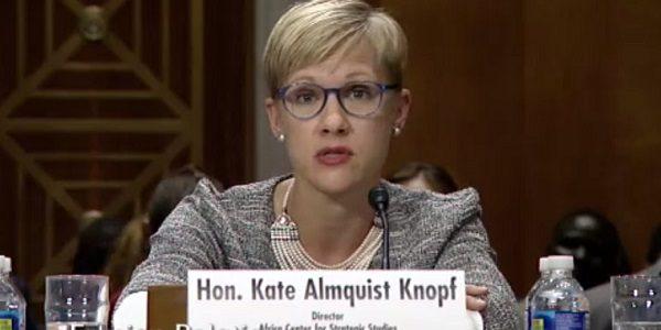 Kate Almquist Knopf - Senate Hearing - South Sudan: Options in Crisis
