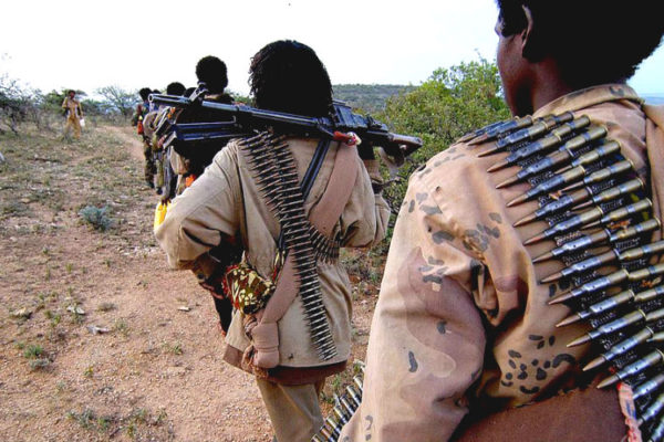 ONLF fighters