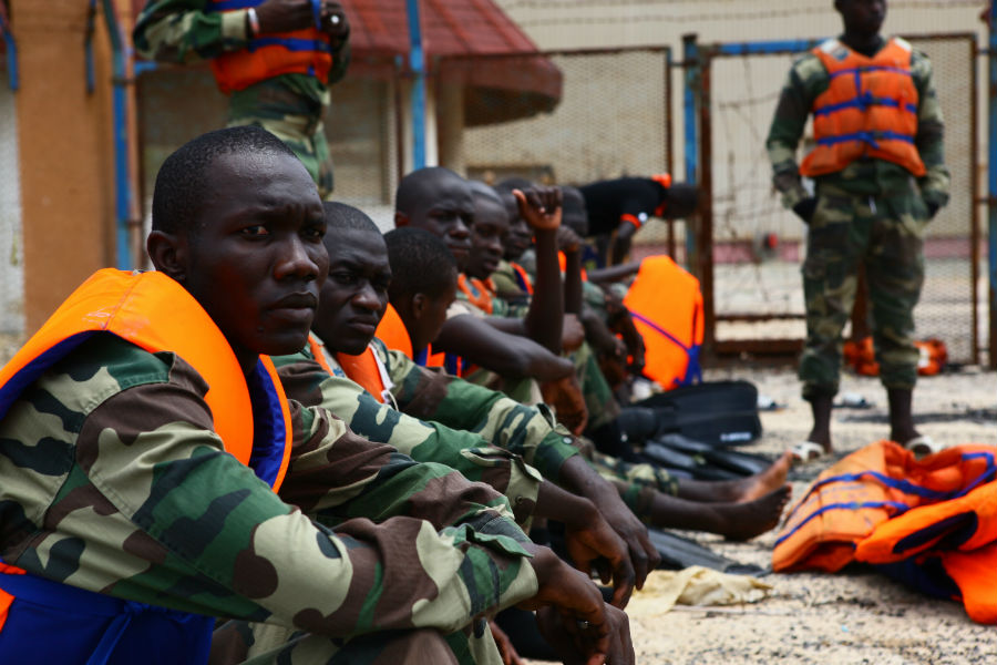 Senegalese commandos receive maritime training