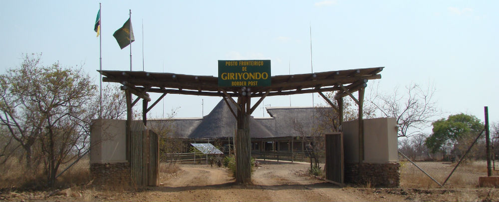 Giriyondo Border Post between South Africa & Mozambique