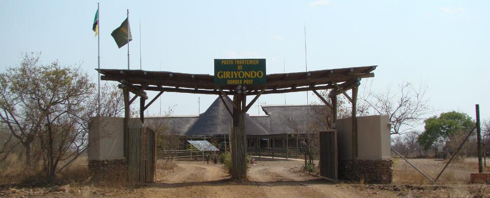 Giriyondo Border Post between South Africa & Mozambique