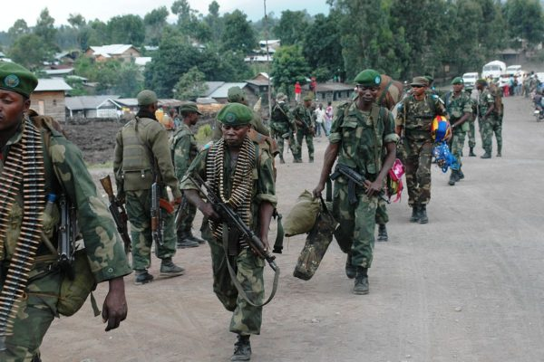 The Congolese National Armed Forces (FARDC) reinforce their positions around Goma following a second day (21 May 2013) of fighting against M23 elements in the town of Mutaho, about 10 km from Goma. (8783002232) by MONUSCO Photos Licensed under CC BY-SA 2.0 via Commons