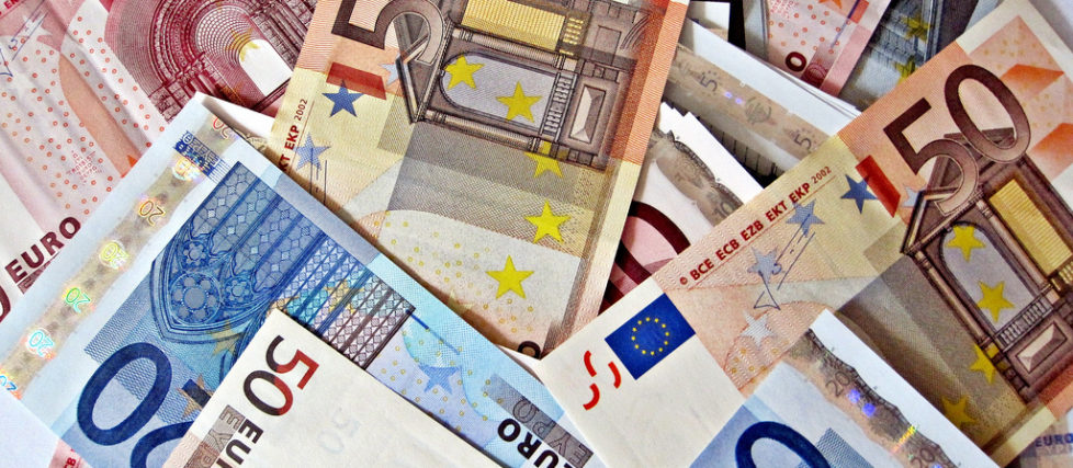 Pile of Euro Notes