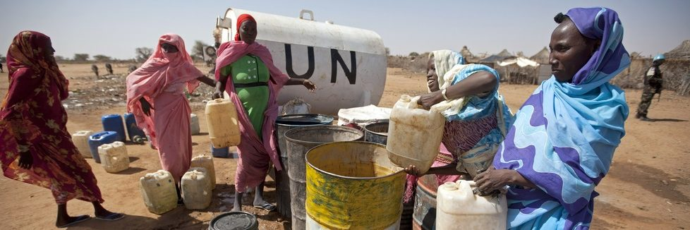 UN Provides Water to Community of Displaced in South Darfur