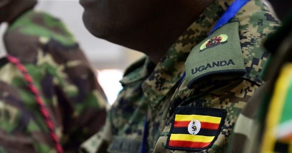 Officers from Kenya, Burundi and Uganda
