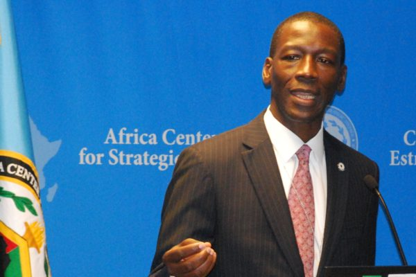 Dr. Raymond Gilpin, Academic Dean at the Africa Center for Strategic Studies.