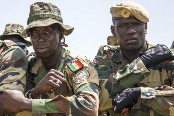 Senegal army
