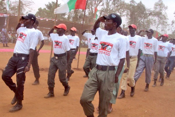 The youth wing of Burundi's ruling CNDD-FDD, known as the Imbonerakure