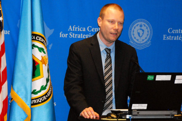 Dr. Ben Nickels, Associate Professor and Academic Chair, Transnational Threats and Counterterrorism