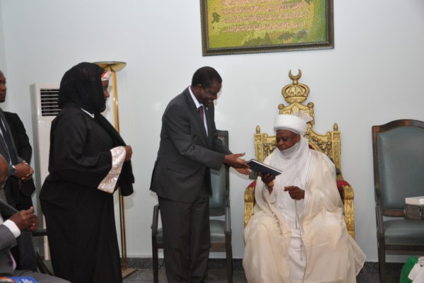 The Sultan of Sokoto. Photo: ECOWAS