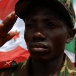 Burundi salute