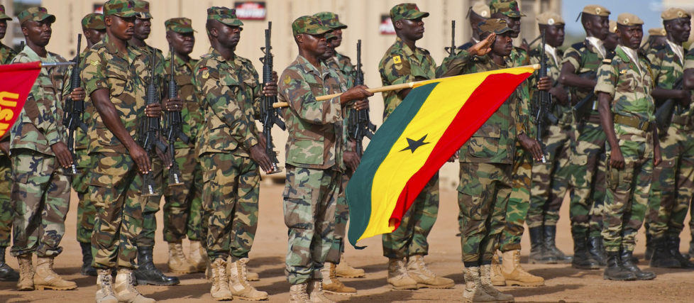 West African militaries at Exercise Western Accord