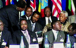 The signing of the Arusha Accords