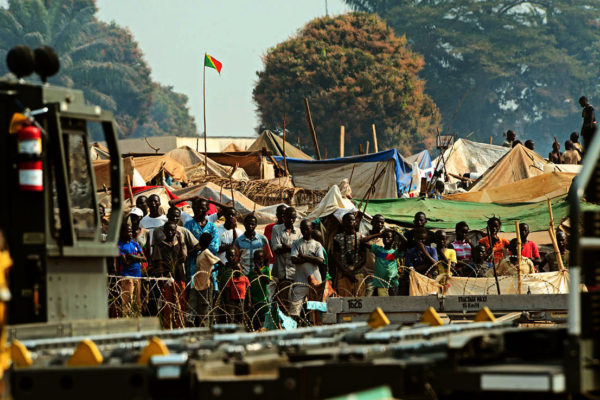 Refugees of violence in Central African Republic