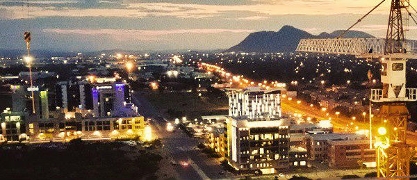 Gaborone, Botswana. Photo: Aquila