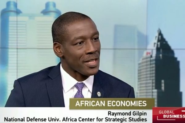 Dr. Raymond Gilpin, Academic Dean, Africa Center for Strategic Studies