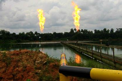 Niger Delta Gas Flares