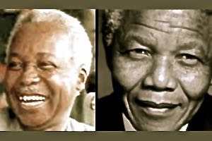 Julius Nyerere and Nelson Mandela