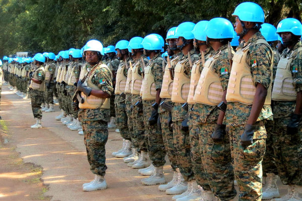 Peacekeepers. Photo: Tsidoti