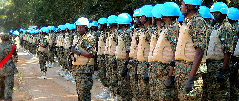 Peacekeepers. Photo: Tsidoti