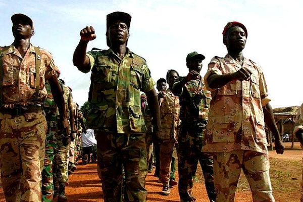 Rebels in northern CAR. Photo: HDPTCAR